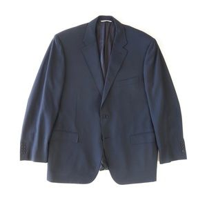 Canali Modern Fit Solid  Wool Blazer